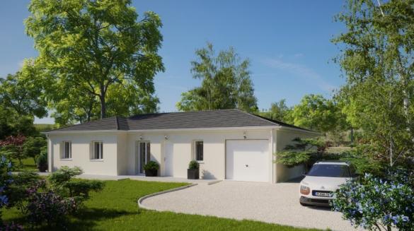 Maison à vendre .(112 m²)(SAINT HILAIRE DE CHALEONS) avec (MAISONS PIERRE NANTES SUD)