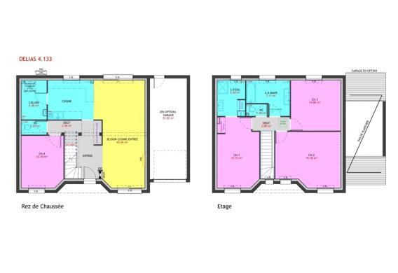 Maison à vendre .(133 m²)(SAINT JEAN DE MONTS) avec (MAISONS PIERRE NANTES SUD)