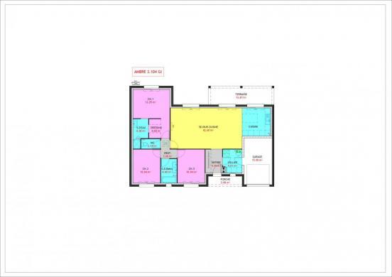 Maison à vendre .(104 m²)(TOUVOIS) avec (MAISONS PIERRE NANTES SUD)