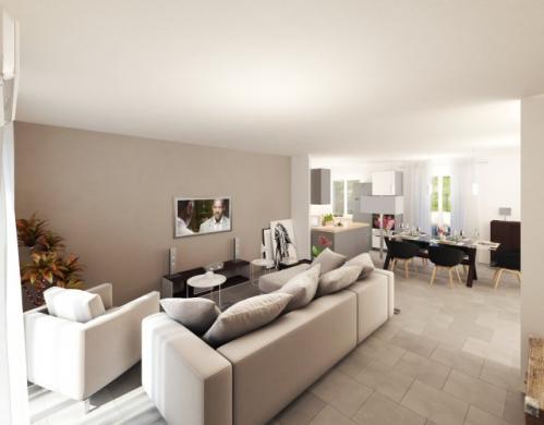 Maison à vendre .(90 m²)(BASSE GOULAINE) avec (MAISONS PIERRE NANTES SUD)