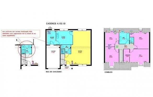 Maison à vendre .(132 m²)(MESANGER) avec (MAISONS PIERRE NANTES SUD)