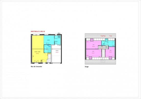 Maison à vendre .(82 m²)(BRETIGNY SUR ORGE) avec (MAISONS PIERRE BAGNEUX)