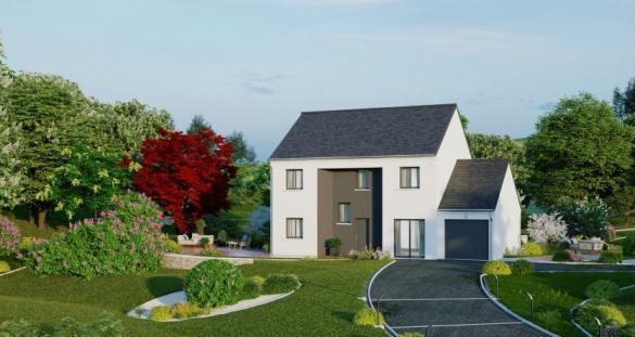 Maison à vendre .(133 m²)(LES MUREAUX) avec (MAISONS PIERRE BAGNEUX)