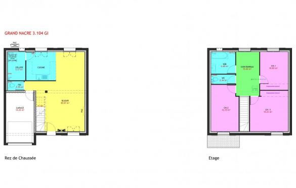 Maison à vendre .(104 m²)(LUZARCHES) avec (MAISONS PIERRE ASNIERES)