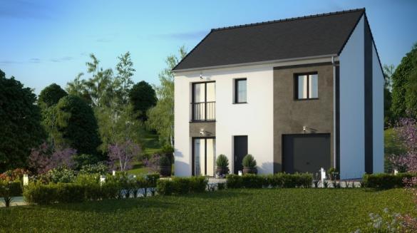 Maison à vendre .(103 m²)(PUISEUX EN FRANCE) avec (MAISONS PIERRE ASNIERES)