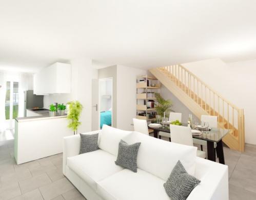 Maison à vendre .(88 m²)(AULNAY SOUS BOIS) avec (MAISONS PIERRE ASNIERES)