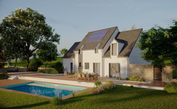 Maison à vendre .(139 m²)(MONTLOUIS SUR LOIRE) avec (MAISONS PIERRE TOURS)