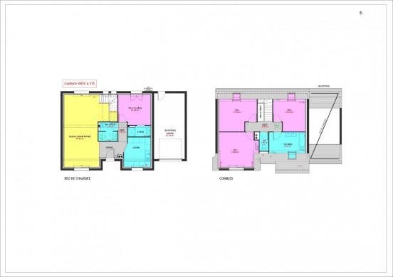 Maison à vendre .(115 m²)(VEIGNE) avec (MAISONS PIERRE TOURS)
