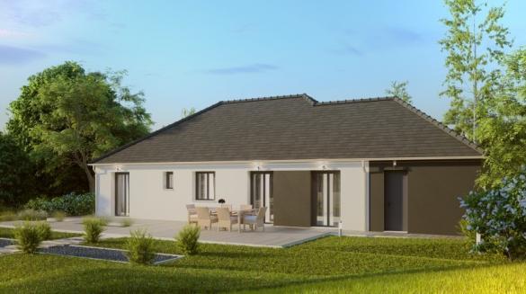 Maison à vendre .(116 m²)(NOTRE DAME D'OE) avec (MAISONS PIERRE TOURS)