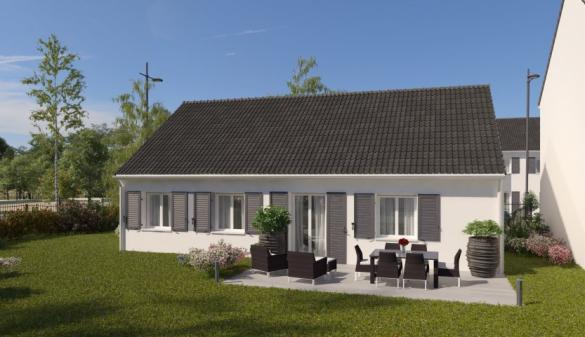 Maison à vendre .(78 m²)(NEUVY LE ROI) avec (MAISONS PIERRE TOURS)