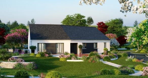 Maison à vendre .(136 m²)(NOTRE DAME D'OE) avec (MAISONS PIERRE TOURS)
