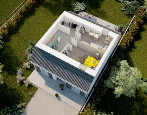 Maison à vendre .(81 m²)(MONTS) avec (MAISONS PIERRE TOURS)