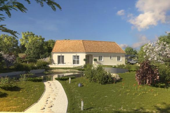 Maison à vendre .(119 m²)(MONTS) avec (MAISONS PIERRE TOURS)