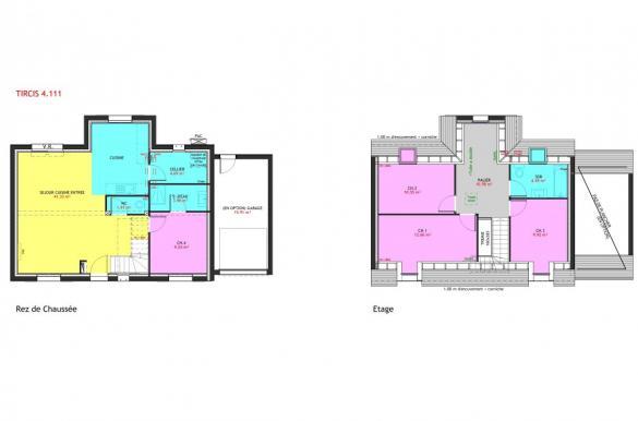 Maison à vendre .(111 m²)(THILOUZE) avec (MAISONS PIERRE TOURS)