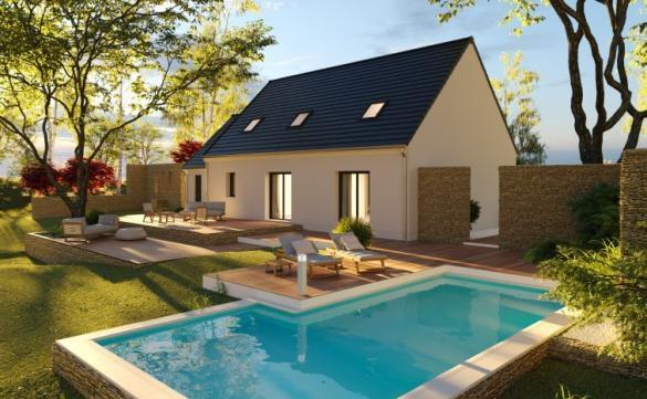 Maison à vendre .(136 m²)(MONNAIE) avec (MAISONS PIERRE TOURS)