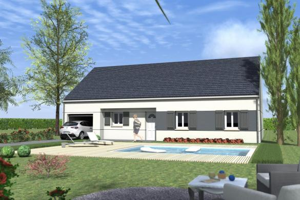 Maison à vendre .(100 m²)(SAINT FARGEAU) avec (MAISONS LENAC)