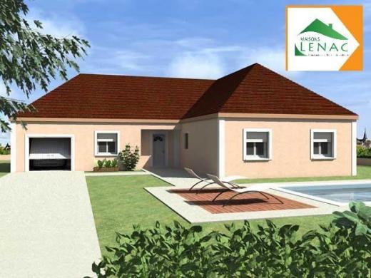 Maison à vendre .(109 m²)(EPINEAU LES VOVES) avec (MAISONS LENAC)
