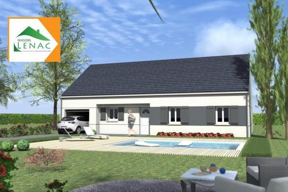 Maison à vendre .(109 m²)(SAVIGNY SUR CLAIRIS) avec (MAISONS LENAC)