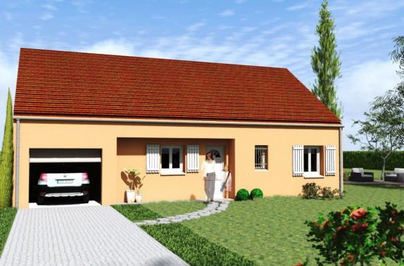 Maison à vendre .(90 m²)(MAGNY) avec (MAISONS LENAC)