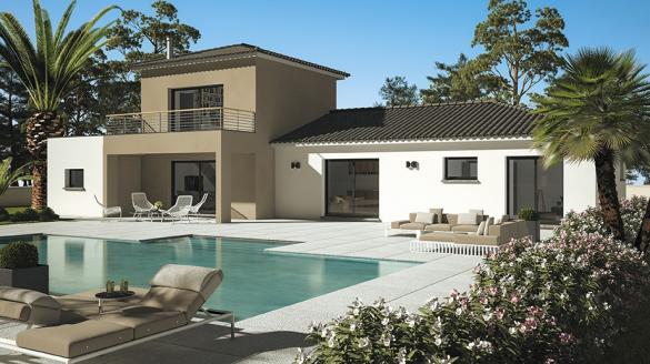 Maison+Terrain à vendre .(95 m²)(PEZILLA LA RIVIERE) avec (LES MAISONS DE MANON)