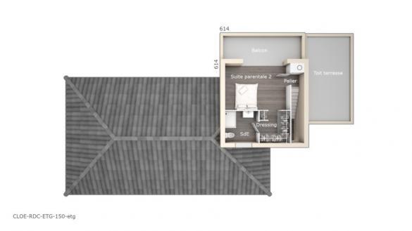 Maison+Terrain à vendre .(150 m²)(BAIXAS) avec (LES MAISONS DE MANON)