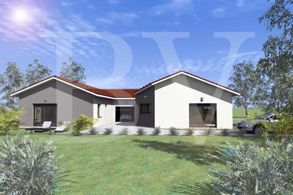 Maison+Terrain à vendre .(SAINT JULIEN DU SERRE) avec (BATIVILLA SARL A&K)