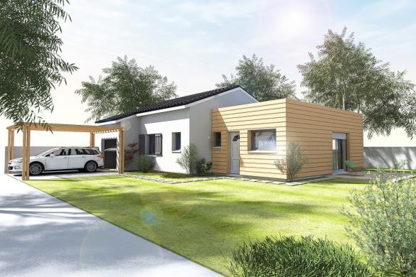 Maison+Terrain à vendre .(CHOMERAC) avec (BATIVILLA SARL A&K)