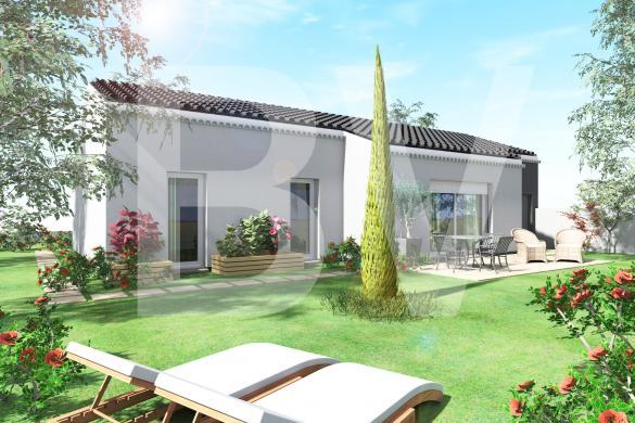 Maison+Terrain à vendre .(VILLENEUVE DE BERG) avec (BATIVILLA SARL A&K)
