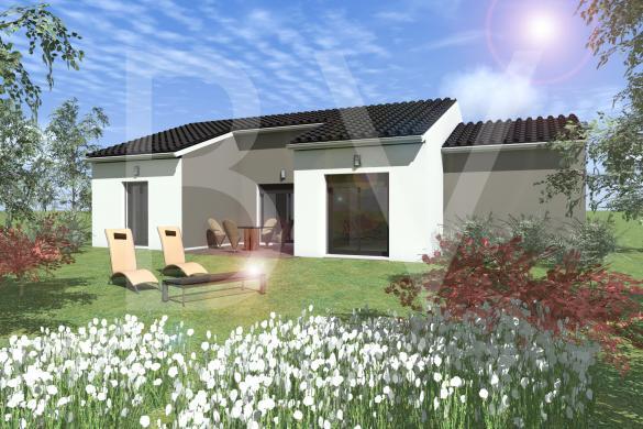 Maison+Terrain à vendre .(GROSPIERRES) avec (BATIVILLA SARL A&K)