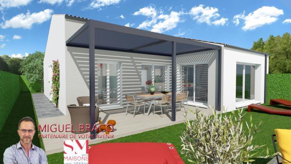 Maison+Terrain à vendre .(90 m²)(LIEURAN LES BEZIERS) avec (SM MAISON)