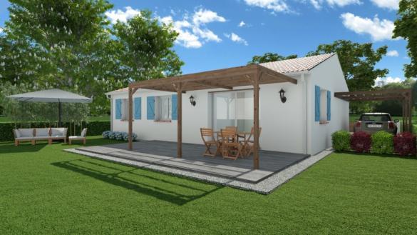 Maison+Terrain à vendre .(95 m²)(GARDOUCH) avec (MAISONS FRANCE CONFORT)