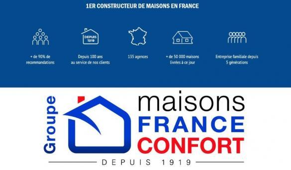 Maison+Terrain à vendre .(100 m²)(AURIAC SUR VENDINELLE) avec (MAISONS FRANCE CONFORT)