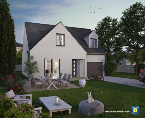 Maison+Terrain à vendre .(105 m²)(SAINT REMY L'HONORE) avec (MAISONS SESAME)