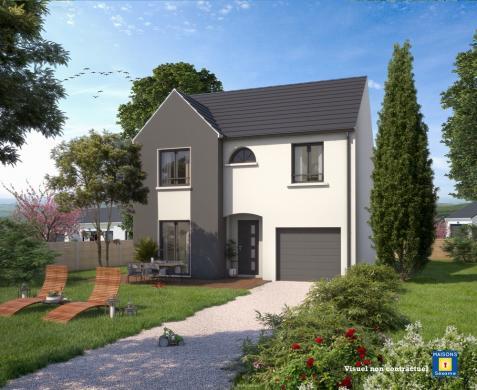 Maison+Terrain à vendre .(105 m²)(MAGNY LES HAMEAUX) avec (MAISONS SESAME)