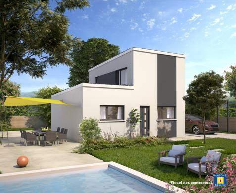 Maison+Terrain à vendre .(90 m²)(AUNEAU) avec (MAISONS SESAME)