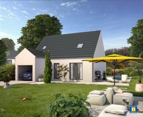 Maison+Terrain à vendre .(105 m²)(GAMBAIS) avec (MAISONS SESAME)