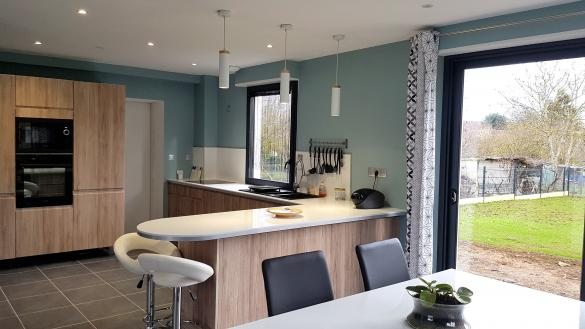 Maison+Terrain à vendre .(104 m²)(SAINT THURIAL) avec (Maisons Phénix Montgermont)