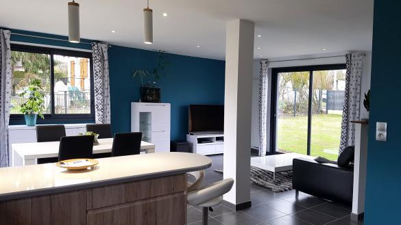 Maison+Terrain à vendre .(102 m²)(MARTIGNE FERCHAUD) avec (Maisons Phénix Montgermont)