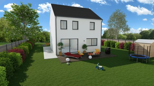 Maison+Terrain à vendre .(118 m²)(SAINT GUINOUX) avec (Maisons Phénix Montgermont)
