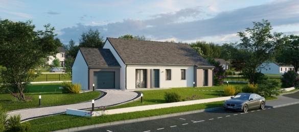 Maison+Terrain à vendre .(119 m²)(DOL DE BRETAGNE) avec (Maisons Phénix Montgermont)