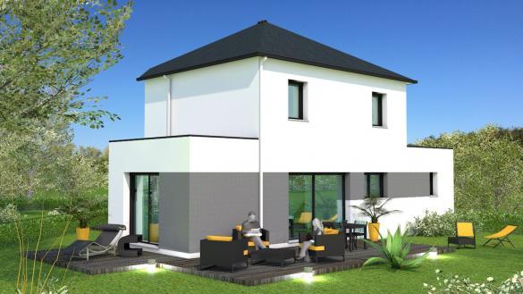 Maison+Terrain à vendre .(130 m²)(CORDEMAIS) avec (MAISON BRIOT NANTES)