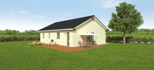 Maison à vendre .(92 m²)(PERS JUSSY) avec (MAISONS OXEO)