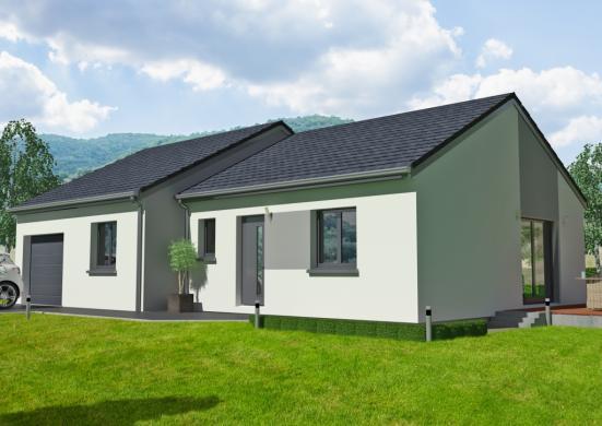 Maison à vendre .(96 m²)(MIRECOURT) avec (MAISONS OXEO)