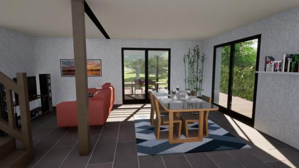 Maison à vendre .(93 m²)(AIX LES BAINS) avec (MAISONS OXEO)