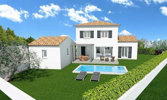Maison+Terrain à vendre .(110 m²)(PUGET VILLE) avec (FARE)
