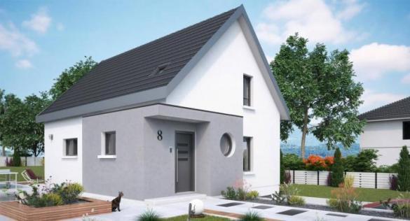 Maison+Terrain à vendre .(102 m²)(LEYMEN) avec (MAISONS STEPHANE BERGER)