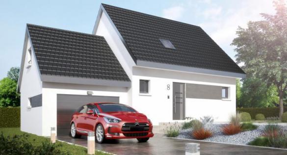 Maison+Terrain à vendre .(100 m²)(BADEVEL) avec (MAISONS STEPHANE BERGER)