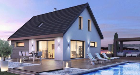 Maison+Terrain à vendre .(133 m²)(LEYMEN) avec (MAISONS STEPHANE BERGER)