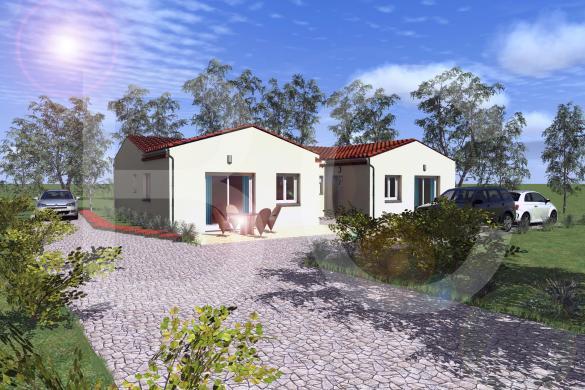 Maison+Terrain à vendre .(MIRABEL) avec (BATI CONCEPT 26/07)