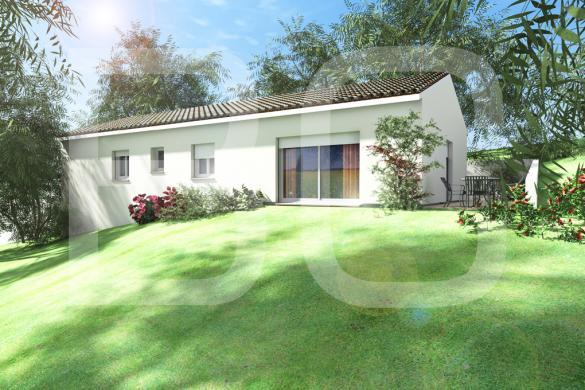Maison+Terrain à vendre .(100 m²)(AUBENAS) avec (BATI CONCEPT 26/07)